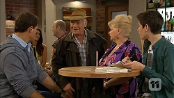 Matt Turner, Lou Carpenter, Sheila Canning, Bailey Turner in Neighbours Episode 6954