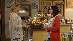 Amber Turner, Imogen Willis in Neighbours Episode 6954