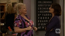 Sheila Canning, Naomi Canning in Neighbours Episode 6954