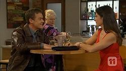 Paul Robinson, Sheila Canning, Phoebe Watson in Neighbours Episode 6955