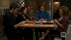 Josh Willis, Imogen Willis, Brad Willis, Terese Willis in Neighbours Episode 6955