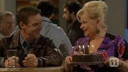 Paul Robinson, Sheila Canning in Neighbours Episode 6955