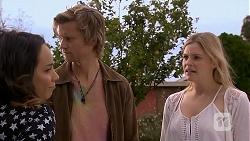 Imogen Willis, Daniel Robinson, Amber Turner in Neighbours Episode 6956