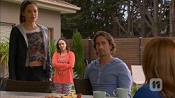 Paige Smith, Imogen Willis, Brad Willis, Terese Willis in Neighbours Episode 6956