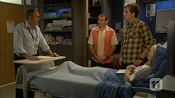 Karl Kennedy, Toadie Rebecchi, Kyle Canning, Georgia Brooks in Neighbours Episode 6957