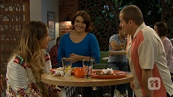 Sonya Rebecchi, Naomi Canning, Toadie Rebecchi in Neighbours Episode 6958