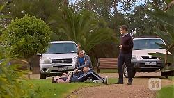 Bailey Turner, Matt Turner, Paul Robinson in Neighbours Episode 6959