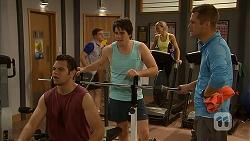 Nate Kinski, Chris Pappas, Mark Brennan in Neighbours Episode 6960