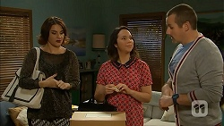 Naomi Canning, Imogen Willis, Toadie Rebecchi in Neighbours Episode 6960