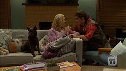 Bossy, Georgia Brooks, Kyle Canning in Neighbours Episode 6961