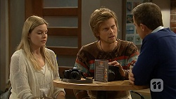 Amber Turner, Daniel Robinson, Paul Robinson in Neighbours Episode 6961