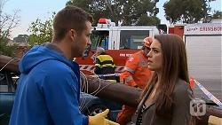 Mark Brennan, Paige Novak in Neighbours Episode 6963