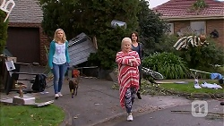 Georgia Brooks, Bossy, Sheila Canning, Naomi Canning in Neighbours Episode 6963