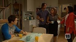 Josh Willis, Brad Willis, Terese Willis, Imogen Willis in Neighbours Episode 6965