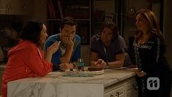 Imogen Willis, Josh Willis, Brad Willis, Terese Willis in Neighbours Episode 6965