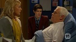 Lauren Turner, Bailey Turner, Lou Carpenter in Neighbours Episode 6966