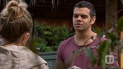 Sonya Mitchell, Nate Kinski in Neighbours Episode 6966