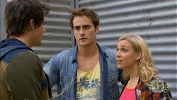 Chris Pappas, Kyle Canning, Georgia Brooks in Neighbours Episode 6966