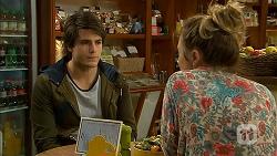 Chris Pappas, Sonya Mitchell in Neighbours Episode 6966