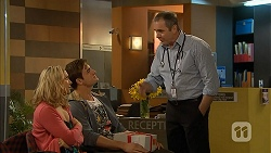 Georgia Brooks, Kyle Canning, Karl Kennedy in Neighbours Episode 6967