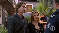 Brad Willis, Terese Willis, Matt Turner in Neighbours Episode 6967