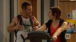 Mark Brennan, Naomi Canning in Neighbours Episode 6968
