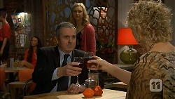 Karl Kennedy, Georgia Brooks, Jessica Girdwood in Neighbours Episode 6968