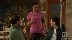 Matt Turner, Alice Azikiwe, Bailey Turner in Neighbours Episode 6969