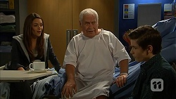 Paige Novak, Lou Carpenter, Bailey Turner in Neighbours Episode 6969