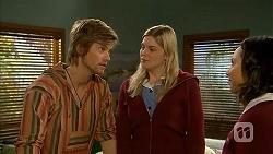 Daniel Robinson, Amber Turner, Imogen Willis in Neighbours Episode 6970