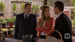 Toadie Rebecchi, Sonya Mitchell, Paul Robinson in Neighbours Episode 6970
