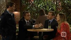 Matt Turner, Paul Robinson, Toadie Rebecchi, Sonya Mitchell in Neighbours Episode 6970