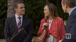 Paul Robinson, Sonya Mitchell, Toadie Rebecchi in Neighbours Episode 6970