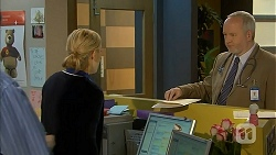 Georgia Brooks, Dr. Geoffrey Curtis in Neighbours Episode 6972