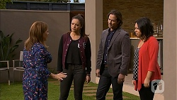 Terese Willis, Paige Novak, Brad Willis, Imogen Willis in Neighbours Episode 6973
