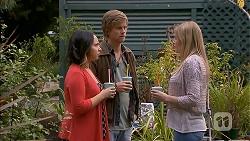 Imogen Willis, Daniel Robinson, Amber Turner in Neighbours Episode 6973