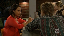 Imogen Willis, Daniel Robinson in Neighbours Episode 6973