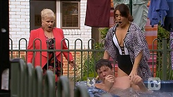 Sheila Canning, Josh Willis, Naomi Canning in Neighbours Episode 6975