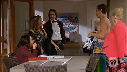 Imogen Willis, Terese Willis, Brad Willis, Sheila Canning in Neighbours Episode 6976