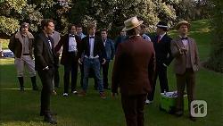 Toadie Rebecchi, Josh Willis, Brad Willis, Daniel Robinson, Chris Pappas, Mark Brennan in Neighbours Episode 6976