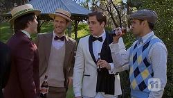 Chris Pappas, Mark Brennan, Kyle Canning, Nate Kinski in Neighbours Episode 6976