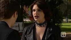 Josh Willis, Naomi Canning in Neighbours Episode 6976