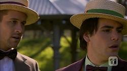 Mark Brennan, Chris Pappas in Neighbours Episode 6976