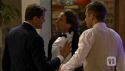 Matt Turner, Brad Willis, Mark Brennan in Neighbours Episode 6976