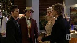 Josh Willis, Chris Pappas, Amber Turner, Daniel Robinson in Neighbours Episode 6976
