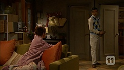 Susan Kennedy, Nate Kinski in Neighbours Episode 6977