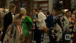 Daniel Robinson, Sheila Canning, Georgia Brooks, Kyle Canning, Sonya Rebecchi in Neighbours Episode 6977