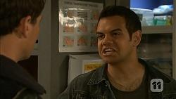 Matt Turner, Nate Kinski in Neighbours Episode 6977