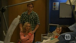 Kyle Canning, Georgia Brooks, Chris Pappas in Neighbours Episode 6978
