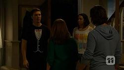Josh Willis, Terese Willis, Imogen Willis, Brad Willis in Neighbours Episode 6978